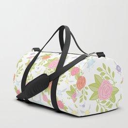 Garden of Fairies Pattern Duffle Bag