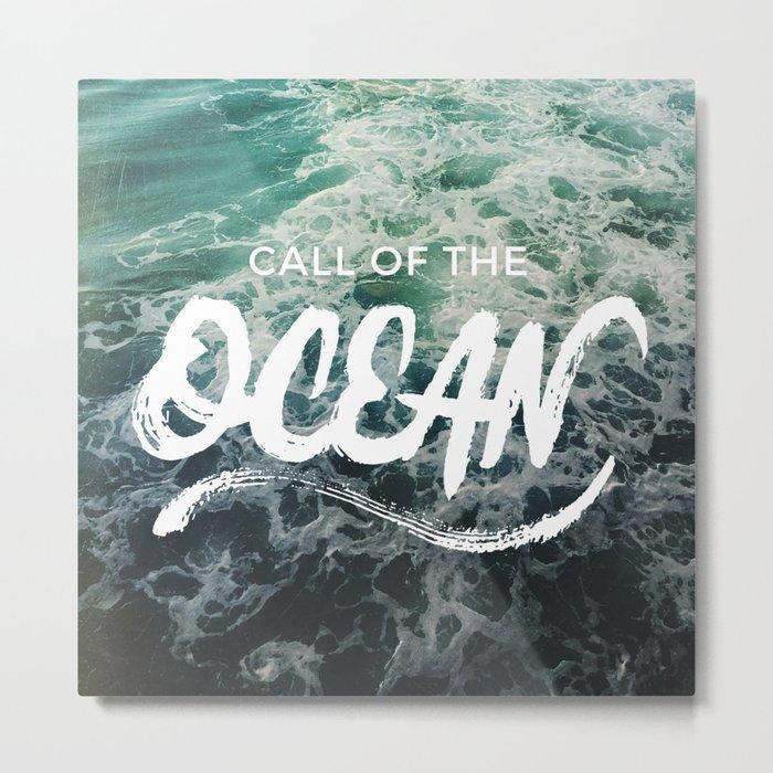 Call of the Ocean Metal Print