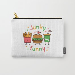 Junky but Funny Carry-All Pouch