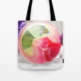 Pink Purple Floral Rose Fine Art Photography Pink Roses Tote Bag