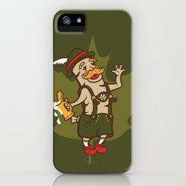 Bratoberfest iPhone Case