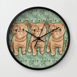 Mr Waffles Wall Clock