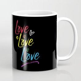 Love is Love is Love Coffee Mug