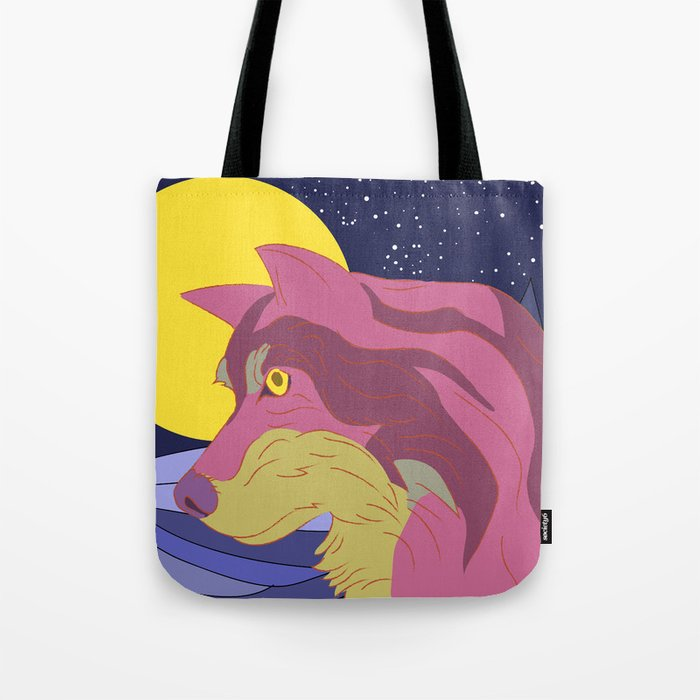Wolf Pack Leader Tote Bag By