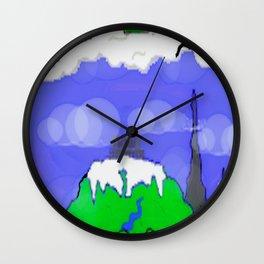 Children's Castle Art Wall Clock