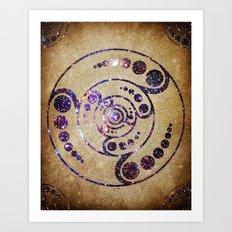 The Harmonious Circle  Art Print