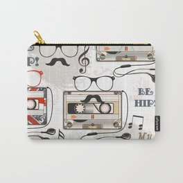 Hipster design pattern Carry-All Pouch