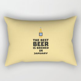 Best Beer is brewed in May T-Shirt for all Ages Rectangular Pillow