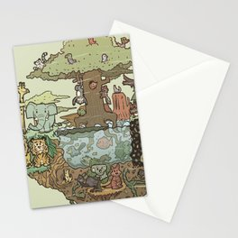 Creatures Of The Forest Stationery Cards