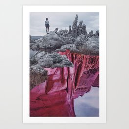 Edges Art Print