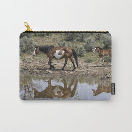 Matching Pair - South Steens Mustangs Carry-All Pouch