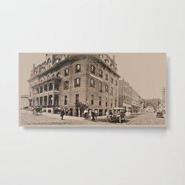 Burleigh House 1913 (sepia) Metal Print