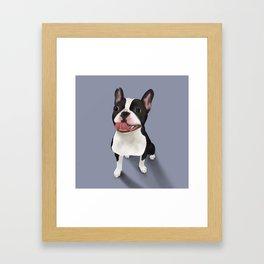 A pleasure! Framed Art Print
