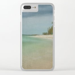 Dreaming of a Key West Beach Clear iPhone Case