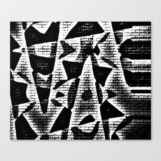 Chip on your Shoulder Canvas Print