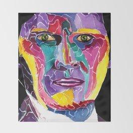 Sixth Doctor / Colin Baker Throw Blanket