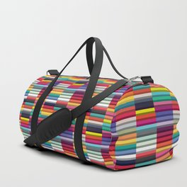 Accordion Fold Series Style J Patchwork Duffle Bag
