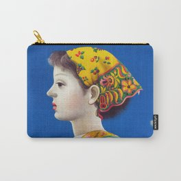 Retro Japanese Cosmetic Advertisement Carry-All Pouch