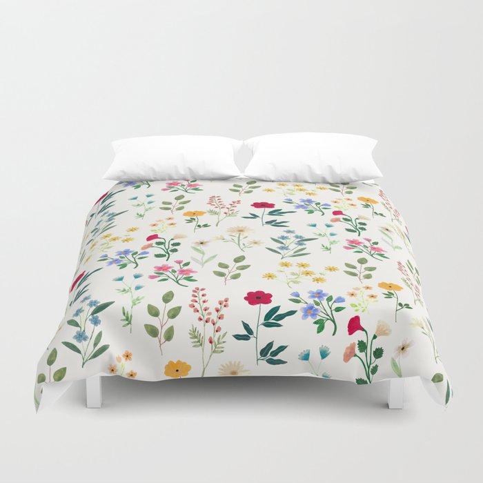 Spring Botanicals Bettbezug