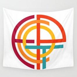 Retro Epcot Logo Wall Tapestry