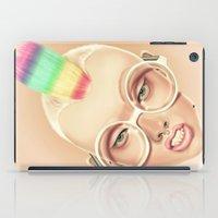 rainbow iPad Cases featuring Rainbow by Giulio Rossi