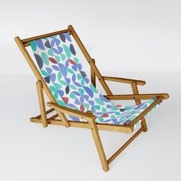 LITE GARDEN SALAD, hand-painted pattern by Frank-Joseph Sling Chair