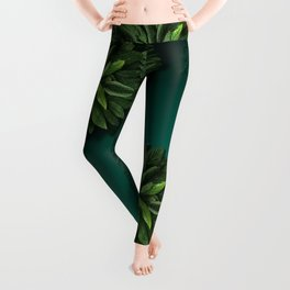 """Caribbean Peppermint"" Leggings"