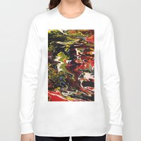 acid Long Sleeve T-shirts featuring Acid by Jordan Luckow
