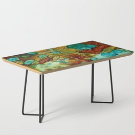 flora beginnings Abstract Coffee Table