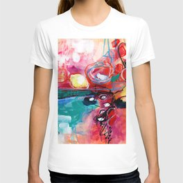 Abstract Soul Dance 1 by Kathy Morton Stanion T-shirt