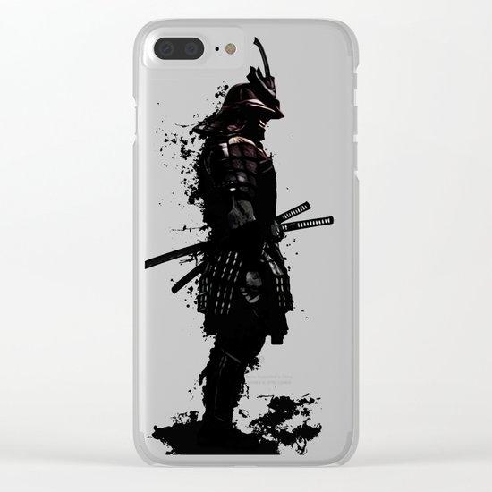 Armored Samurai Clear iPhone Case
