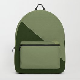 Pine Moss Sage Diagonal  Backpack