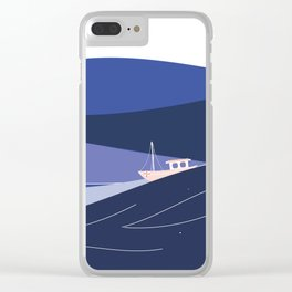 Seascape Clear iPhone Case
