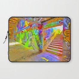 London Graffiti Pop Art Laptop Sleeve