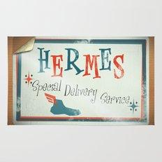 Hermes Special Delivery Service Rug