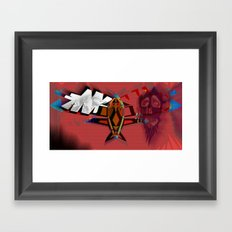 Exa Framed Art Print
