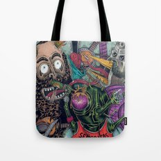 Sid Squish and the Death Collectors Tote Bag