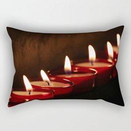 Tea lights Rectangular Pillow