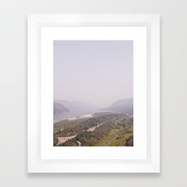 THE GORGE Framed Art Print