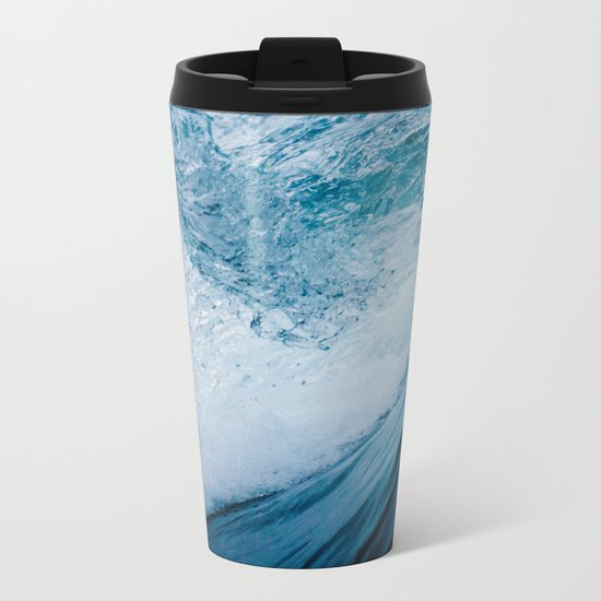 Ocean Dance Metal Travel Mug