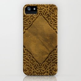 Vintage Ornamental Book Cover iPhone Case