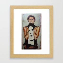 Jed Framed Art Print