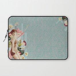 Feminine Collage III Laptop Sleeve