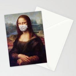 Mona Mask Stationery Cards