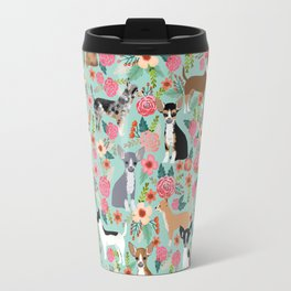 Chihuahua floral dog breed cute pet gifts for chiwawa lovers chihuahuas owners Travel Mug