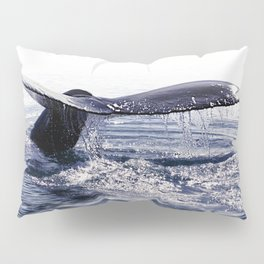 WHALE SONG 1 - DEEP DIVE Pillow Sham