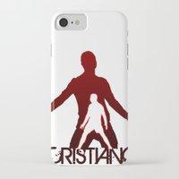 ronaldo iPhone & iPod Cases featuring Cristiano Ronaldo by Sport_Designs