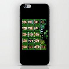 8 Bit Bad Guys iPhone & iPod Skin