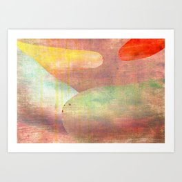happy to meet you again Art Print