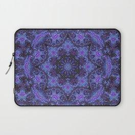 Blue and Purple Kaleidoscope 2 Laptop Sleeve